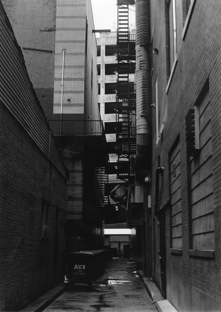 An Alley in Pittsburgh