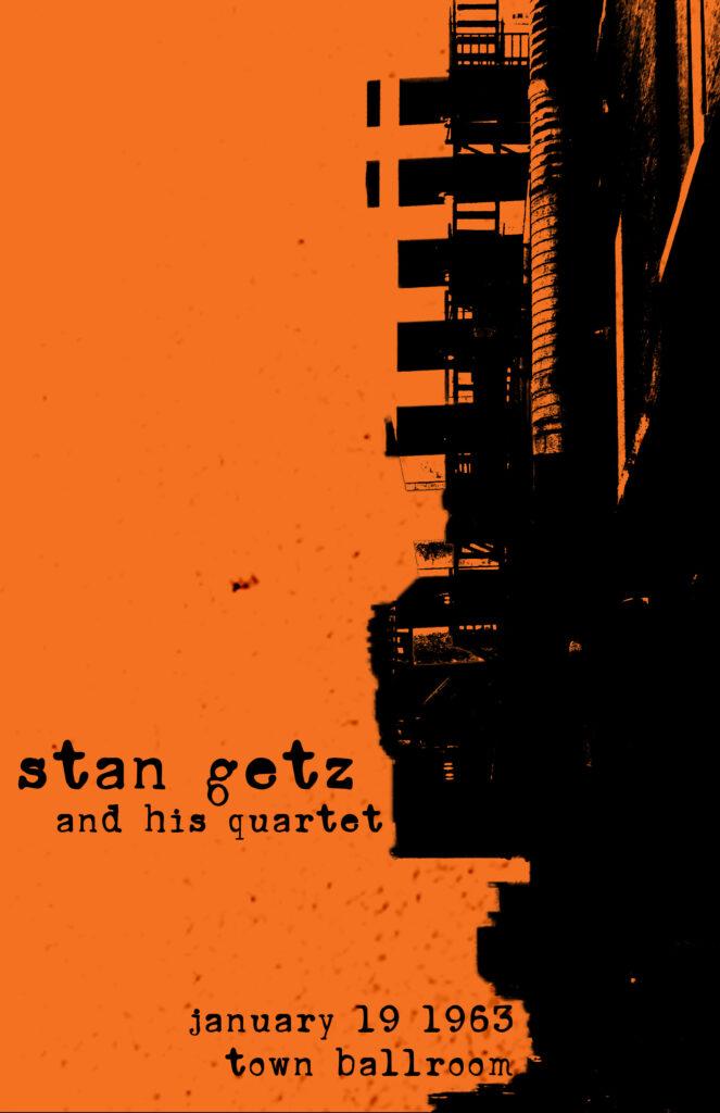 Stan Getz Poster